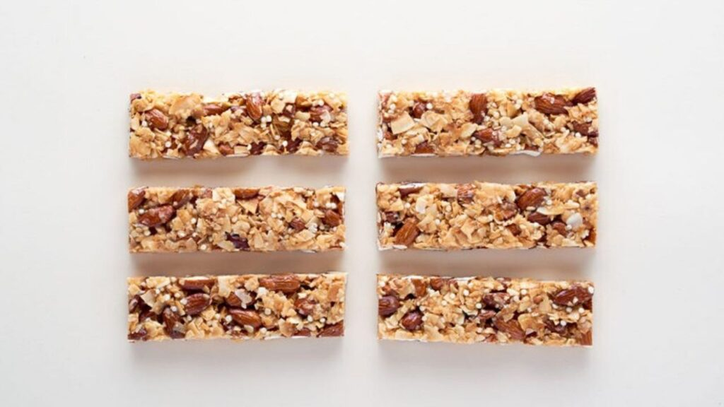 Snack bars with high fiber