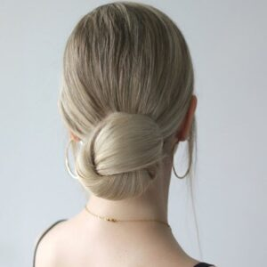 Low Knotted Bun