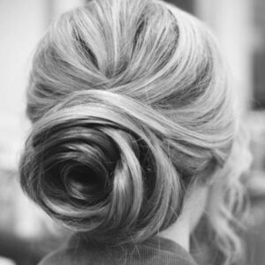 Roll-the-whole hairstyle