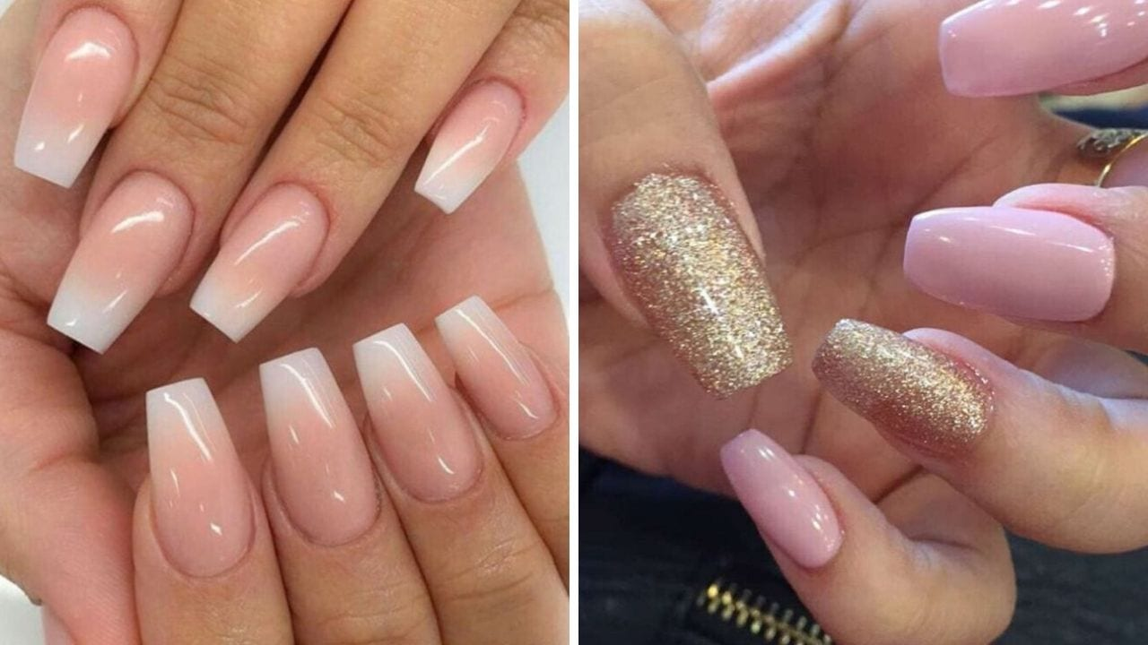 Pink Nails Design