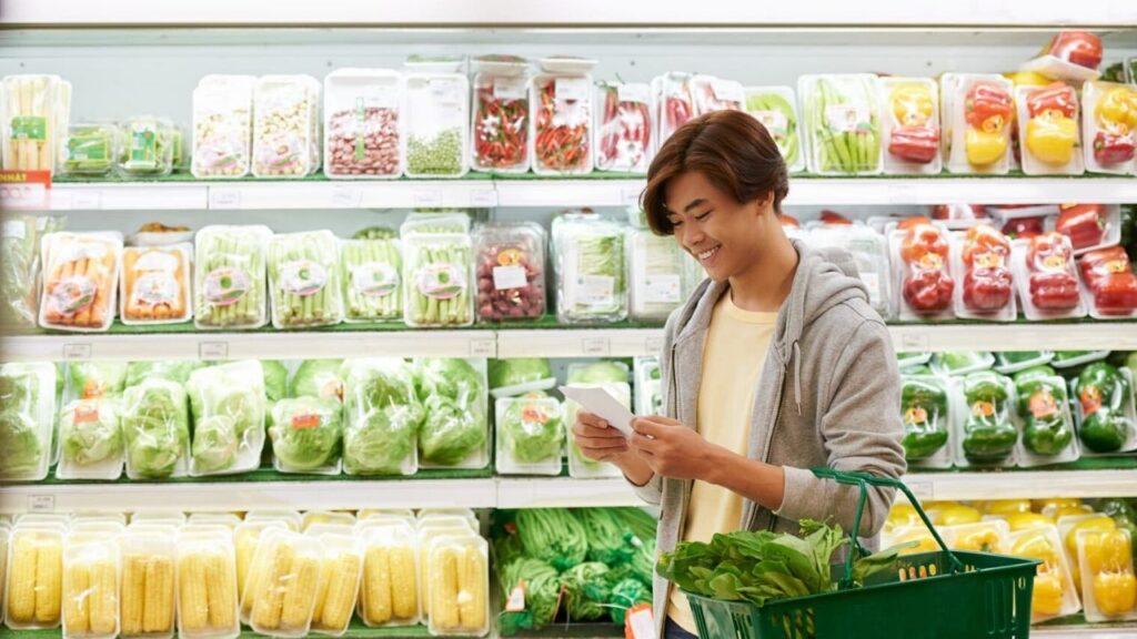 grocery list for vegan