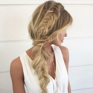 Chic Loose Braid Ponytail