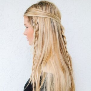 Gorgeous Hippie Braid Hairstyle
