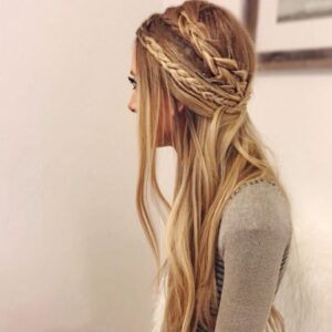 Trendy Hippie Braid Hairstyle