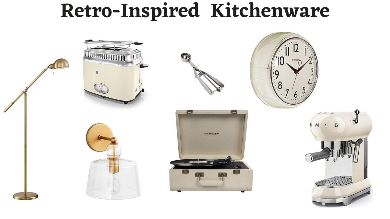 Retro-Inspired Kitchenware
