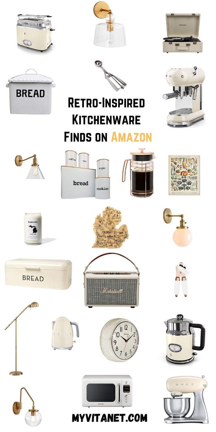 Retro-Inspired Kitchenware