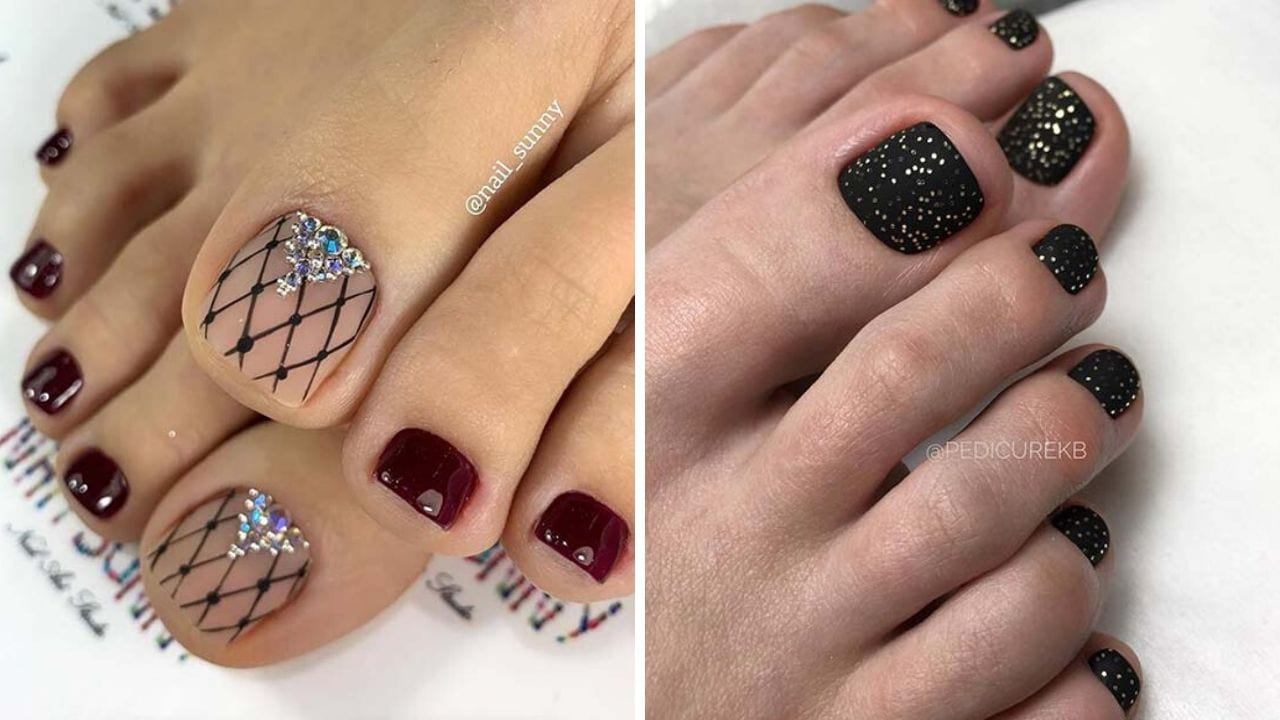 Toe Nail Design for Summer