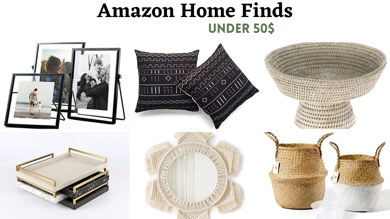 amazon home DECOR finds