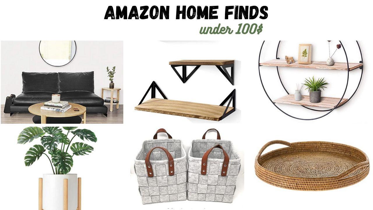 Amazon Modern Home Decor Finds Under $100
