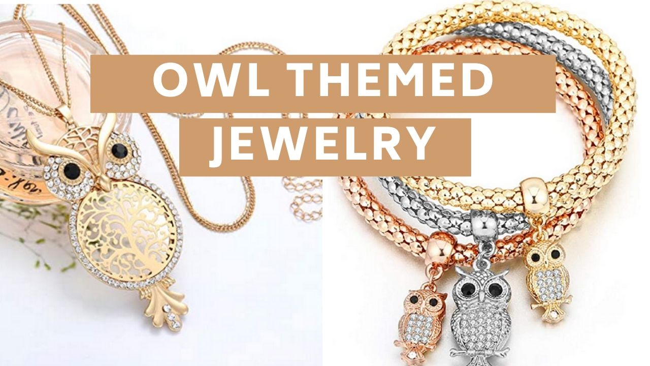 owl themed jewelry