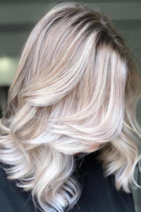 Angled Style with Icy waves
