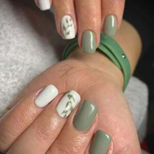Pretty Botanical Nail Art