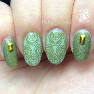 Stunning Patterned Nails
