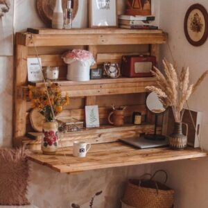 Wood Small Home Office