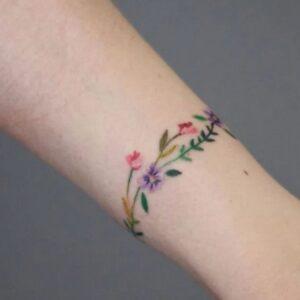 Anklet or Bracelets tattoo idea