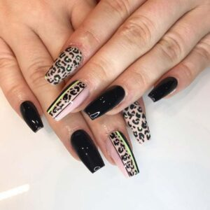 Leopard Nails Art Design