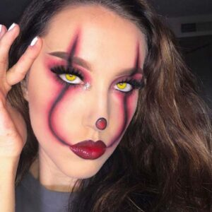 Spooky Pennywise Makeup