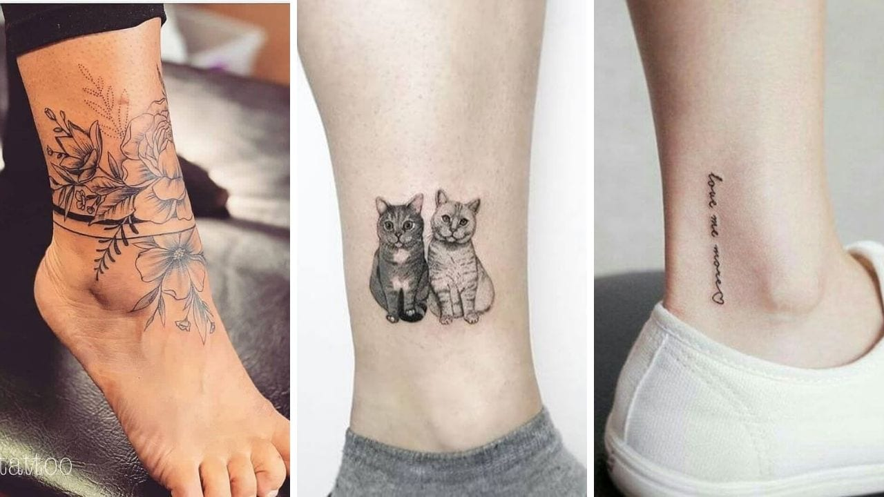 45 Trendy Ankle Tattoo for Women - Myvitanet