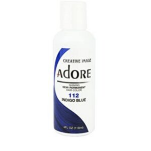 Indigo Blue Semi-Permanent Haircolour #112 from Adore