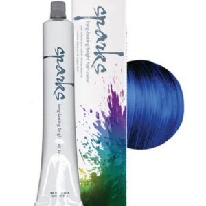 Electric Blue Hair Dyes from Sparks