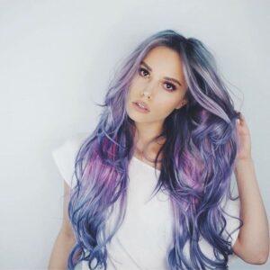 Mermaid Silver Blue Hair